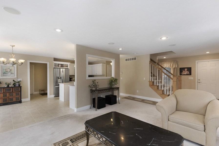 Real Estate Photography - 6373 Oak Court, Berrien Center, MI, 49102 - Kitchen / Living Room