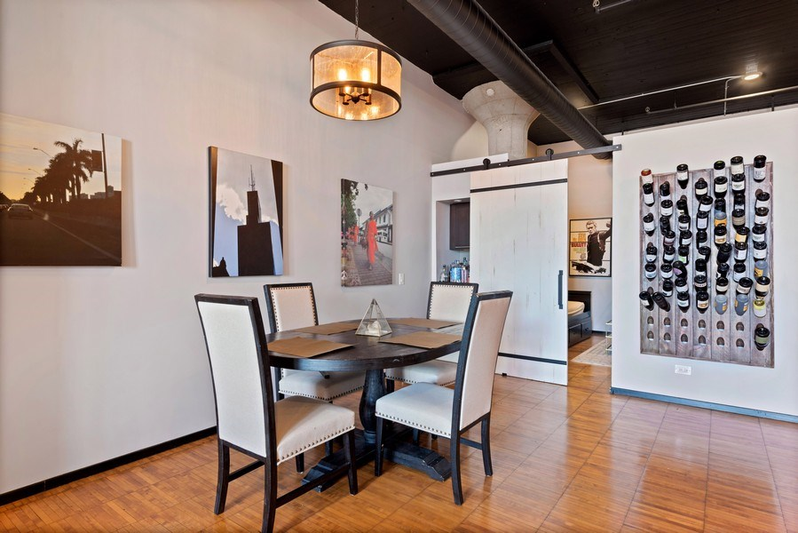 Real Estate Photography - 728 W. Jackson Blvd., Unit 1003, Chicago, IL, 60661 - Dining Room