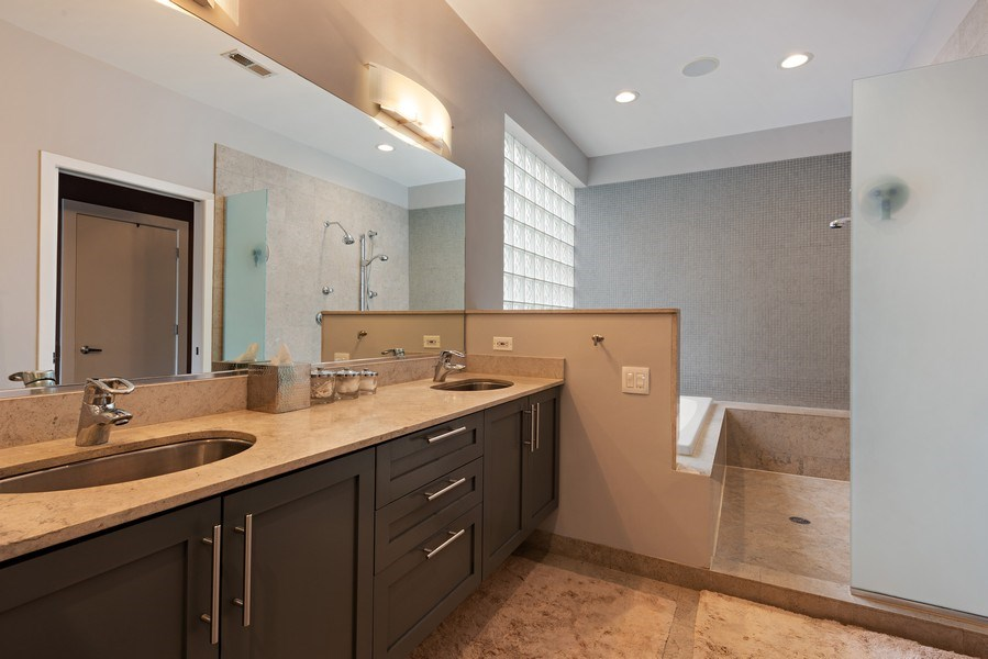 Real Estate Photography - 1734 N. Winchester Ave., Chicago, IL, 60622 - Master Bathroom