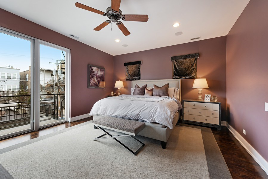 Real Estate Photography - 1734 N. Winchester Ave., Chicago, IL, 60622 - Master Bedroom