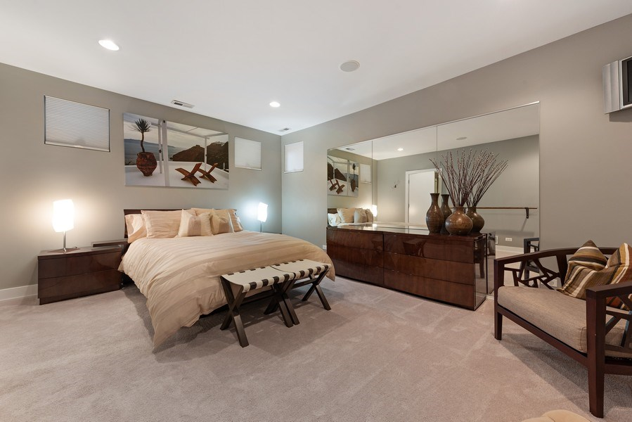 Real Estate Photography - 1734 N. Winchester Ave., Chicago, IL, 60622 - Guest Bedroom