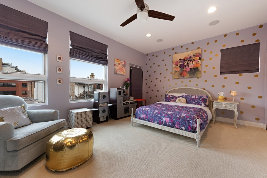 Real Estate Photography - 1734 N. Winchester Ave., Chicago, IL, 60622 - 2nd Bedroom