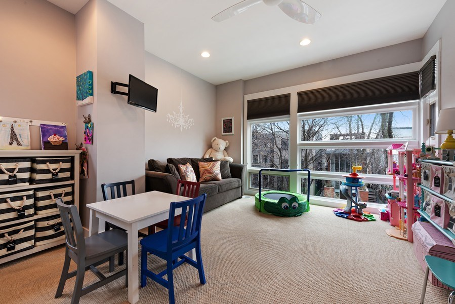 Real Estate Photography - 1734 N. Winchester Ave., Chicago, IL, 60622 - 3rd Bedroom