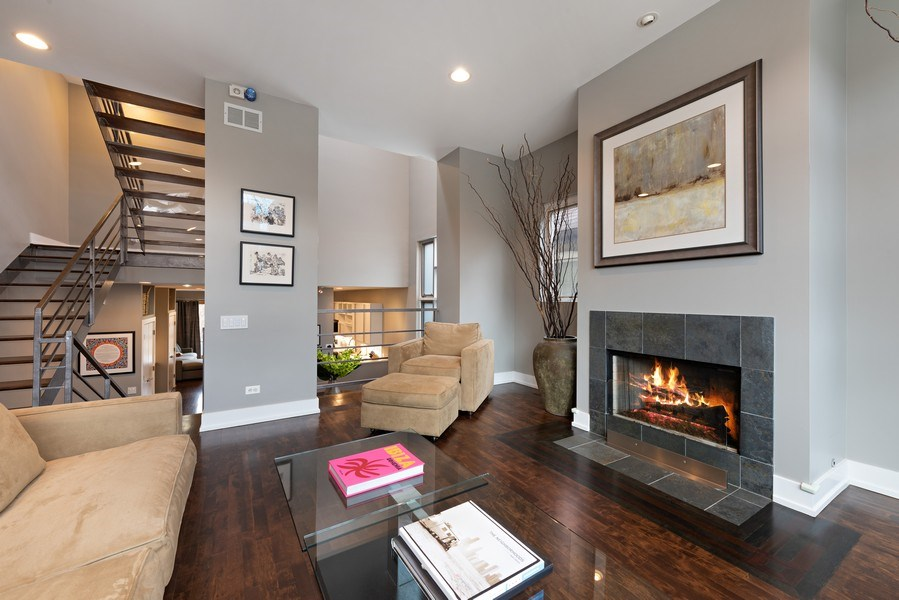 Real Estate Photography - 1734 N. Winchester Ave., Chicago, IL, 60622 - Living Room