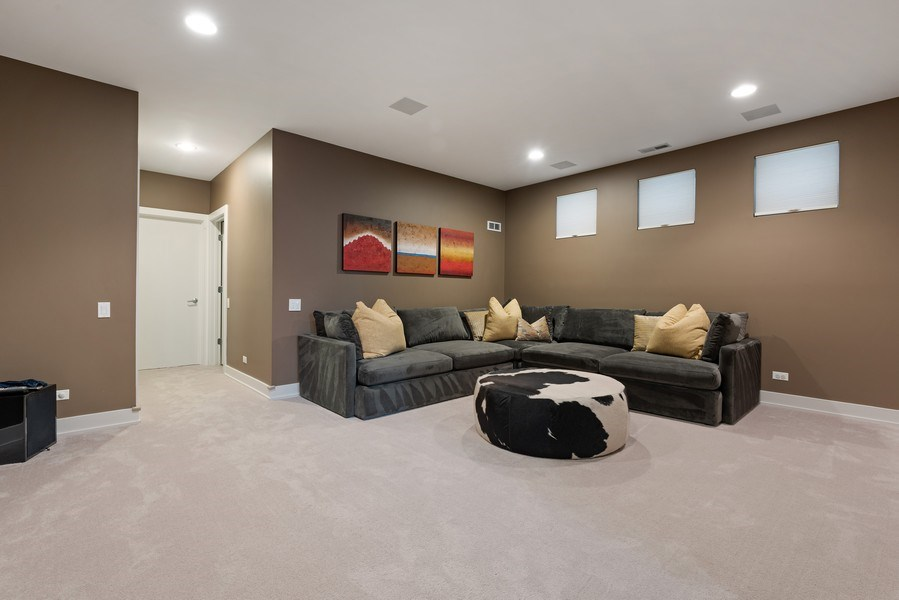 Real Estate Photography - 1734 N. Winchester Ave., Chicago, IL, 60622 - Recreational Room