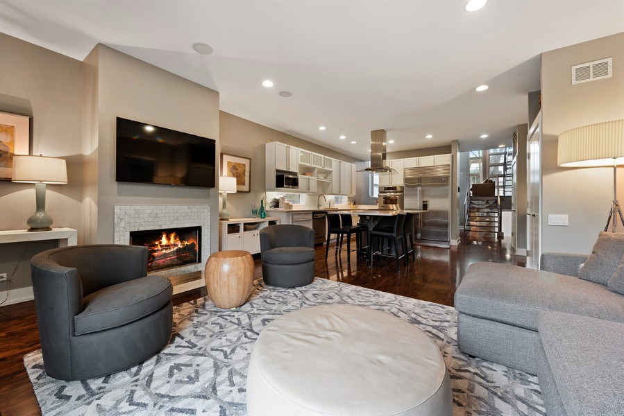 Real Estate Photography - 1734 N. Winchester Ave., Chicago, IL, 60622 - Family Room