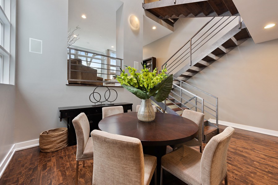 Real Estate Photography - 1734 N. Winchester Ave., Chicago, IL, 60622 - Dining Room