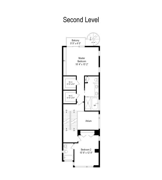 Real Estate Photography - 1734 N. Winchester Ave., Chicago, IL, 60622 - Floor Plan