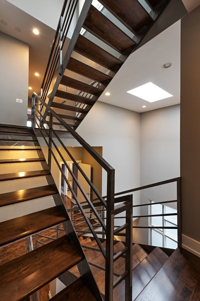 Real Estate Photography - 1734 N. Winchester Ave., Chicago, IL, 60622 - Staircase
