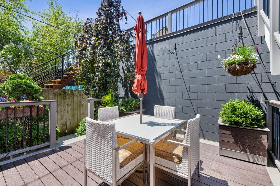 Real Estate Photography - 1734 N. Winchester Ave., Chicago, IL, 60622 - Patio