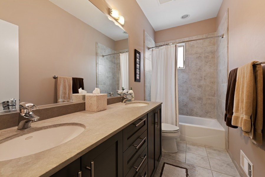 Real Estate Photography - 1734 N. Winchester Ave., Chicago, IL, 60622 - 2nd Bathroom