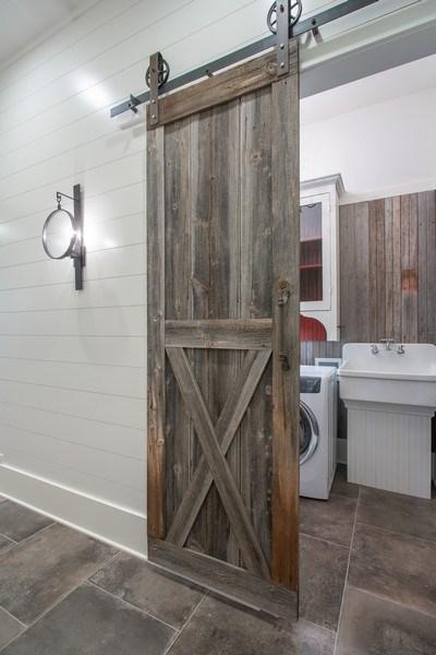 Real Estate Photography - 14950 Lakeside Road, Lakeside, MI, 49116 - Laundry Room