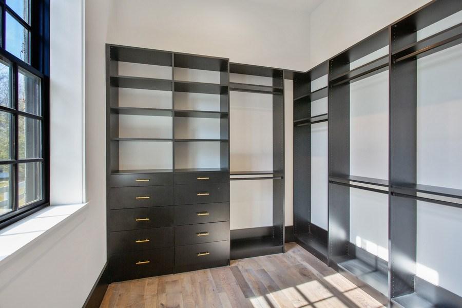 Real Estate Photography - 14950 Lakeside Road, Lakeside, MI, 49116 - Master Bedroom Closet