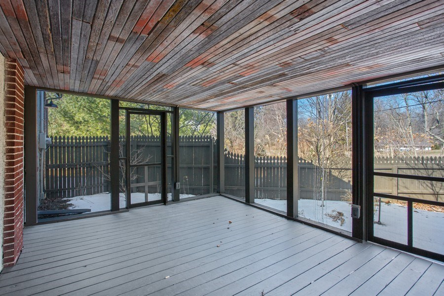 Real Estate Photography - 14950 Lakeside Road, Lakeside, MI, 49116 - Porch