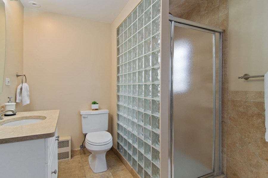 Real Estate Photography - 1625 N. Dayton St., Chicago, IL, 60614 - Unit 2 - Master Bathroom