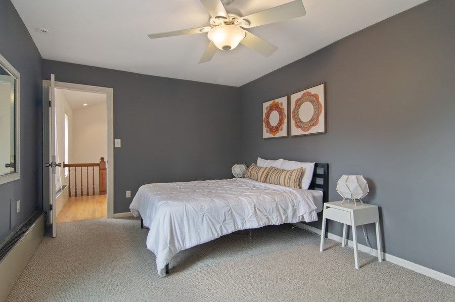 Real Estate Photography - 1625 N. Dayton St., Chicago, IL, 60614 - Unit 2 - Master Bedroom