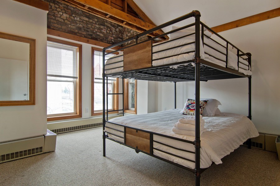 Real Estate Photography - 1625 N. Dayton St., Chicago, IL, 60614 - Unit 2 - 2nd Bedroom