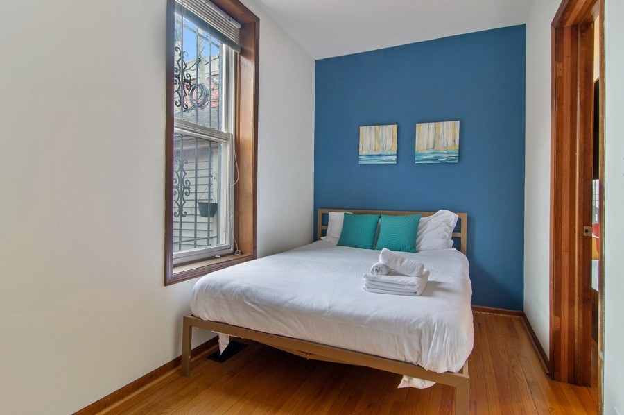 Real Estate Photography - 1625 N. Dayton St., Chicago, IL, 60614 - Unit 1 - Bedroom