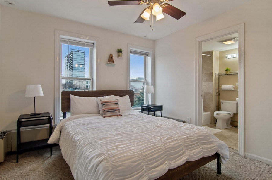 Real Estate Photography - 1625 N. Dayton St., Chicago, IL, 60614 - Unit 2 - 3rd Bedroom