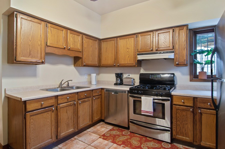 Real Estate Photography - 1625 N. Dayton St., Chicago, IL, 60614 - Unit 1 - Kitchen