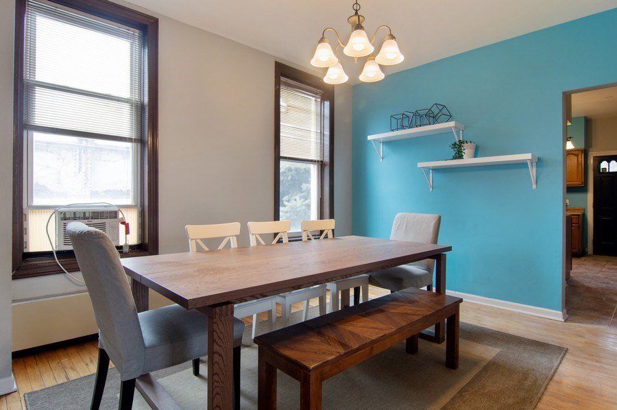 Real Estate Photography - 1625 N. Dayton St., Chicago, IL, 60614 - Unit 2 - Dining Room