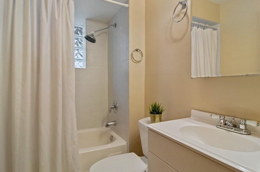 Real Estate Photography - 1625 N. Dayton St., Chicago, IL, 60614 - Unit 1 - Bathroom
