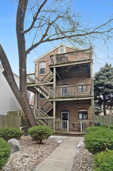 Real Estate Photography - 1625 N. Dayton St., Chicago, IL, 60614 - Front View
