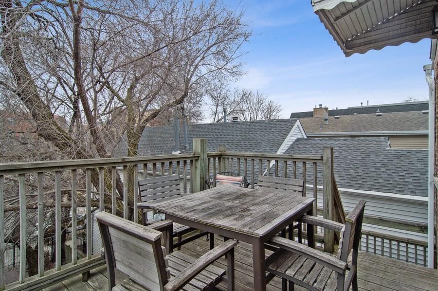 Real Estate Photography - 1625 N. Dayton St., Chicago, IL, 60614 - Unit 2 -Upper Deck