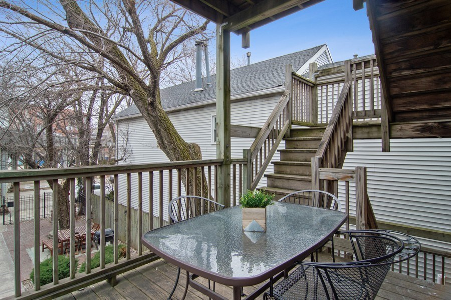 Real Estate Photography - 1625 N. Dayton St., Chicago, IL, 60614 - Unit 2 - Lower Deck