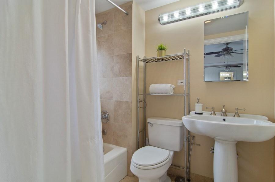 Real Estate Photography - 1625 N. Dayton St., Chicago, IL, 60614 - Unit 2 - 2nd Bathroom