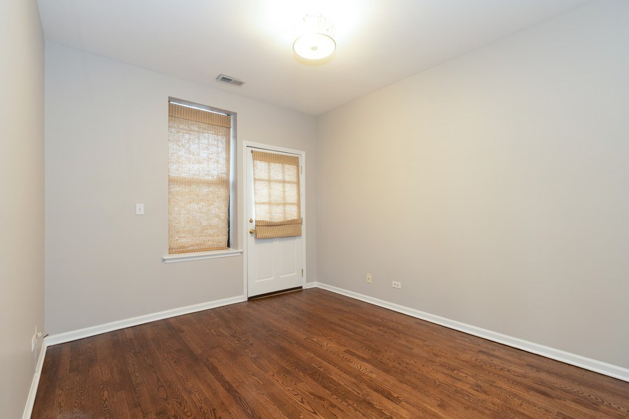 Real Estate Photography - 4742 N Washtenaw, Chicago, IL, 60625 - Master Bedroom