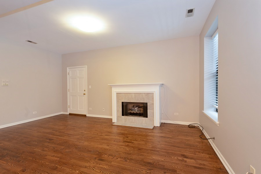 Real Estate Photography - 4742 N Washtenaw, Chicago, IL, 60625 - Living Room