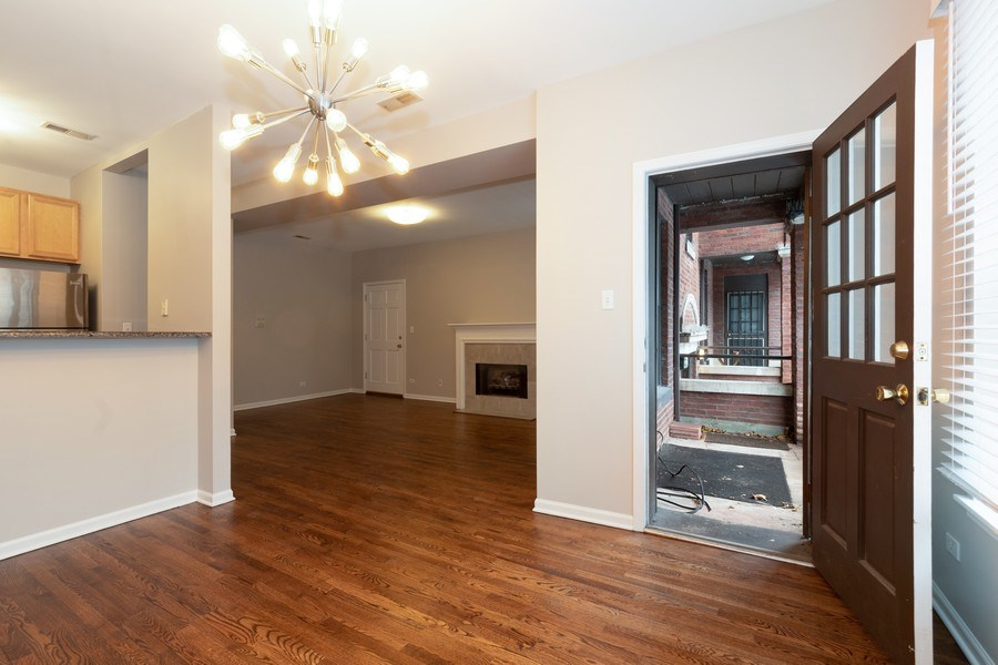 Real Estate Photography - 4742 N Washtenaw, Chicago, IL, 60625 - Dining Room