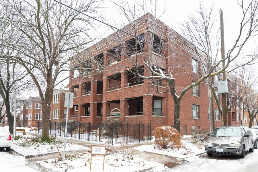 Real Estate Photography - 4742 N Washtenaw, Chicago, IL, 60625 - Front View
