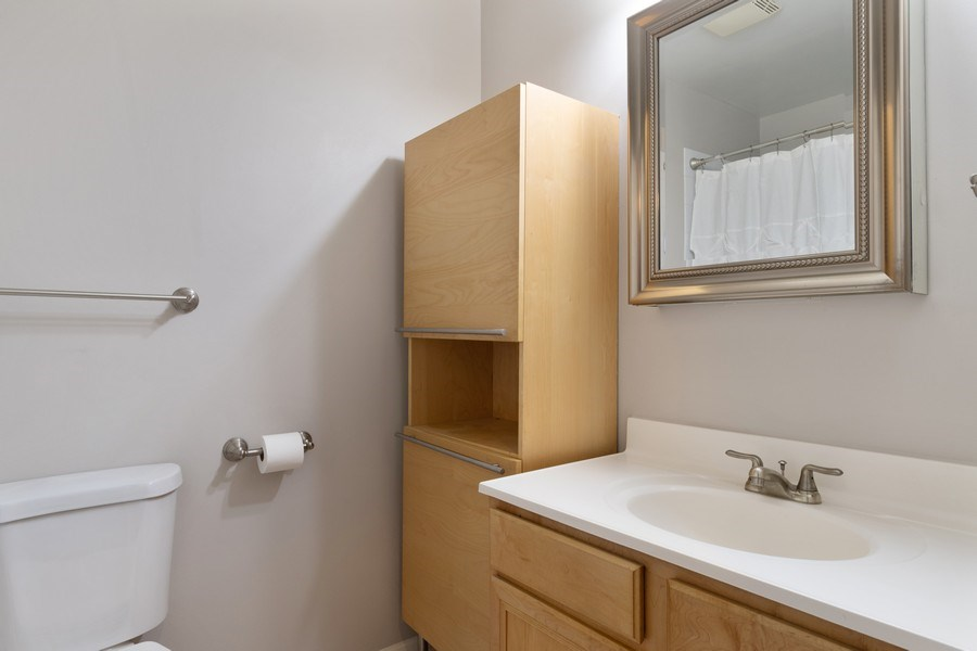 Real Estate Photography - 4742 N Washtenaw, Chicago, IL, 60625 - Bathroom