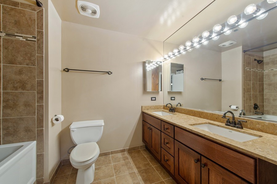 Real Estate Photography - 550 N Kingsbury St, unit 416, Chicago, IL, 60654 - Bathroom