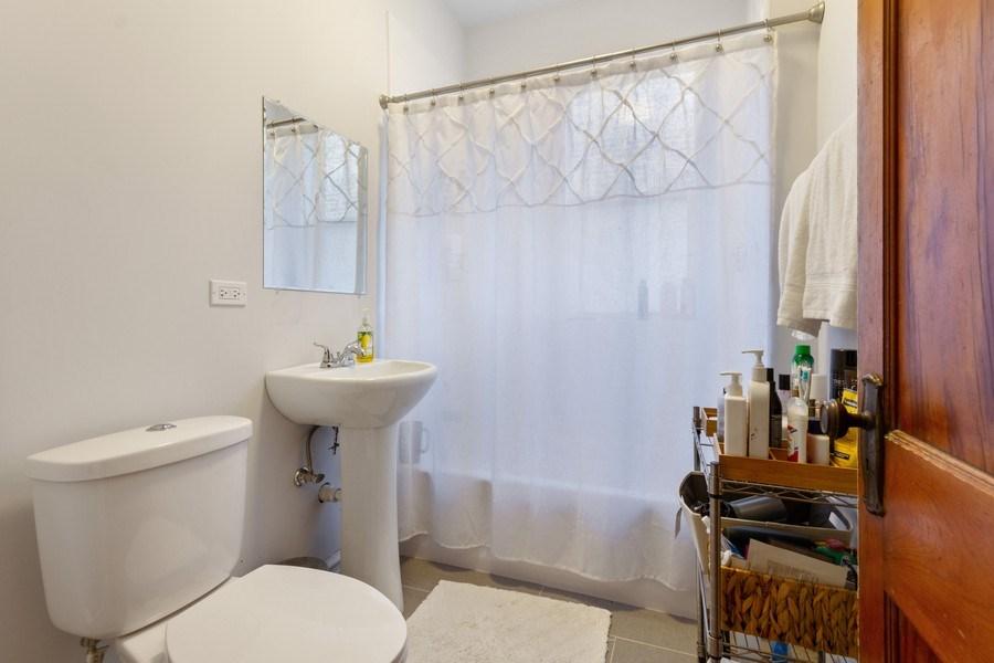 Real Estate Photography - 2058 Hutchinson, Chicago, IL, 60618 - Master Bathroom