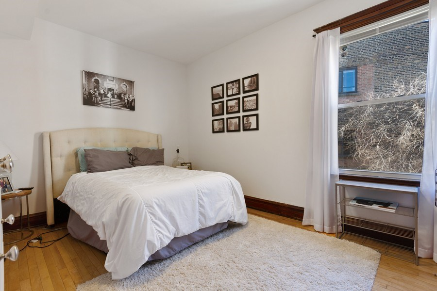 Real Estate Photography - 2058 Hutchinson, Chicago, IL, 60618 - Master Bedroom