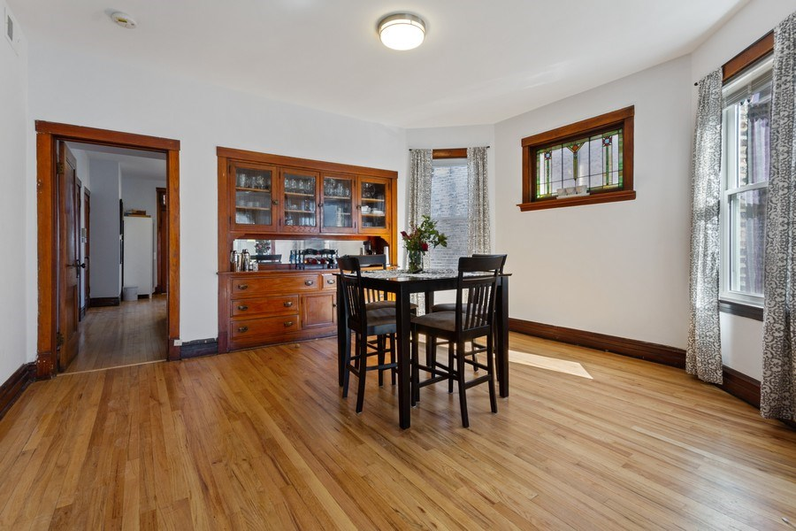 Real Estate Photography - 2058 Hutchinson, Chicago, IL, 60618 - Dining Room