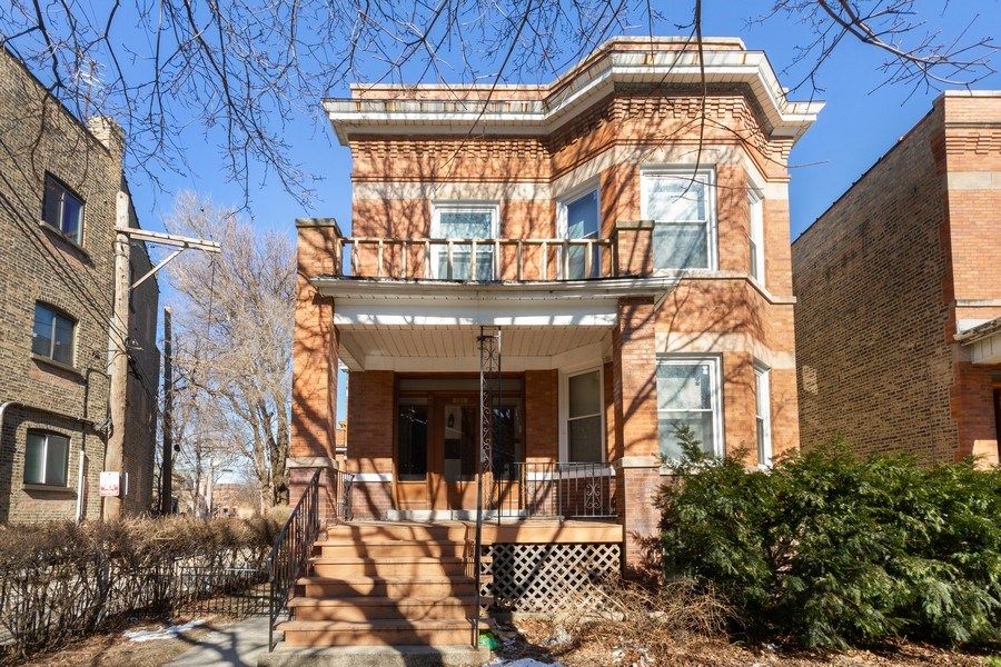 Real Estate Photography - 2058 Hutchinson, Chicago, IL, 60618 - Front View