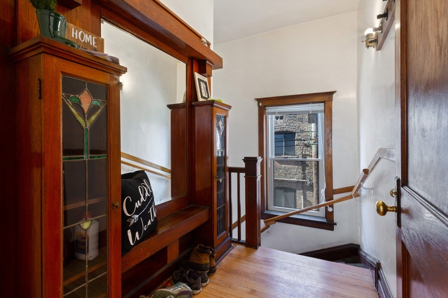 Real Estate Photography - 2058 Hutchinson, Chicago, IL, 60618 - Entryway