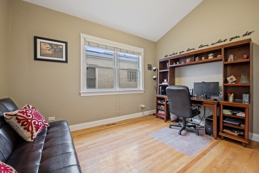 Real Estate Photography - 3046 N Oakley, 3S, Chicago, IL, 60618 - 2nd Bedroom