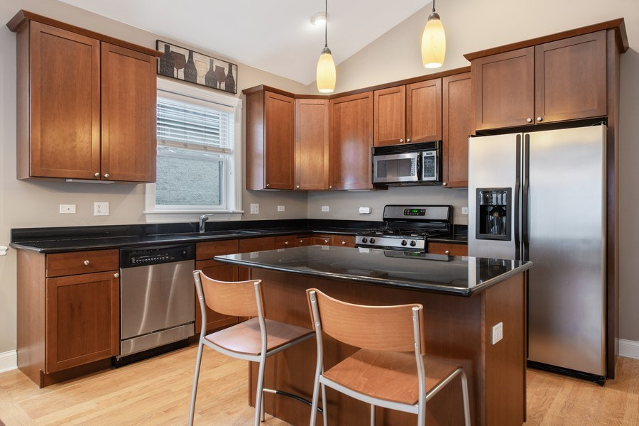 Real Estate Photography - 3046 N Oakley, 3S, Chicago, IL, 60618 - Kitchen