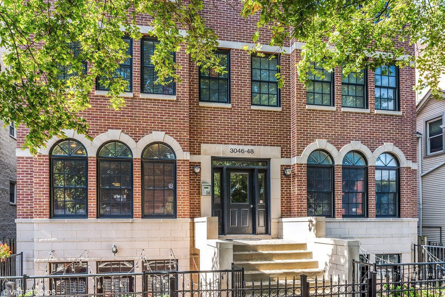 Real Estate Photography - 3046 N Oakley, 3S, Chicago, IL, 60618 - Front View