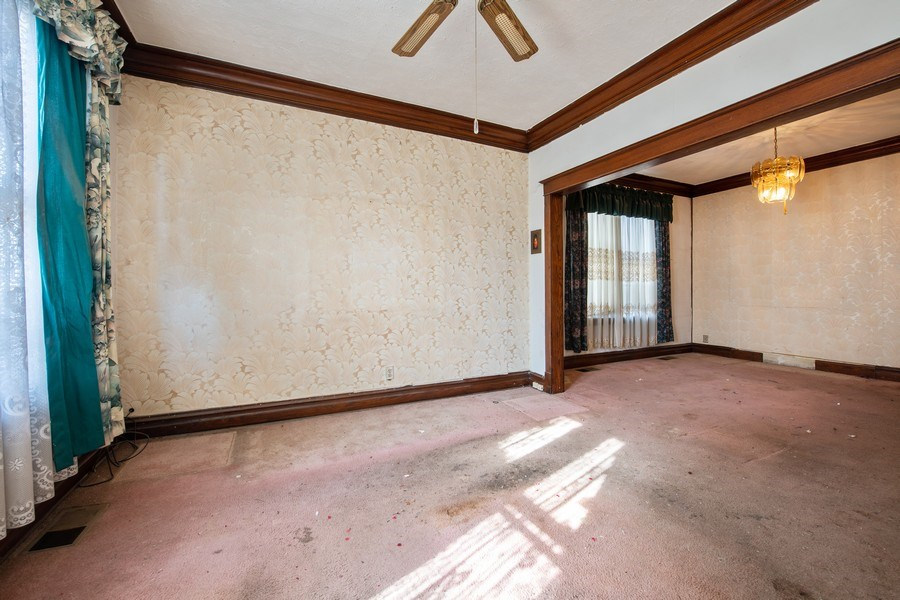 Real Estate Photography - 6334 W Belmont, Chicago, IL, 60634 - Living Room