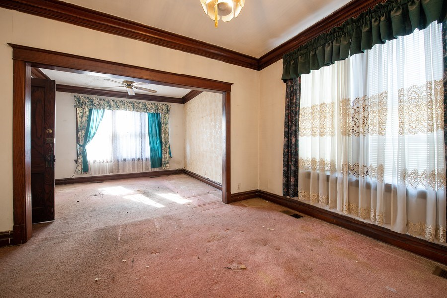 Real Estate Photography - 6334 W Belmont, Chicago, IL, 60634 - Dining Room