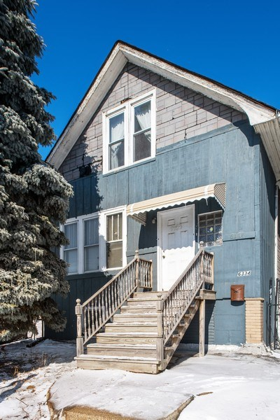 Real Estate Photography - 6334 W Belmont, Chicago, IL, 60634 - Front View