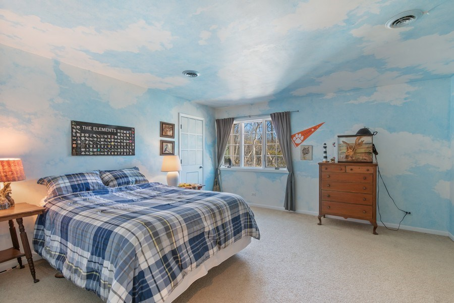 Real Estate Photography - 25130 N Cayuga Trail, Lake Barrington, IL, 60010 - 3rd Bedroom