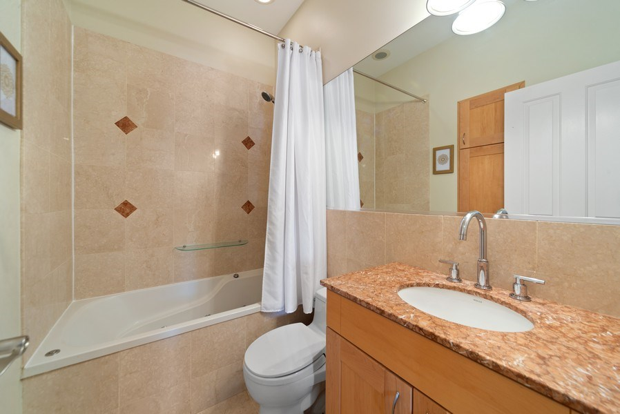 Real Estate Photography - 2115 W. Chicago #4, Chicago, IL, 60622 - Master Bathroom