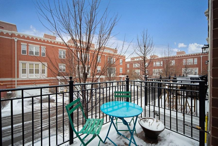 Real Estate Photography - 2717 W. Dakin, Chicago, IL, 60618 - Terrace